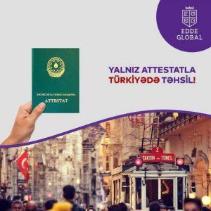 Attestatla Türkiyədə təhsil